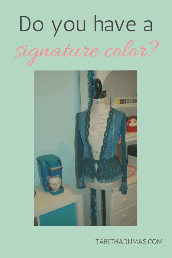 Do you have a signature color- Get noticed and become unforgettable. From Image and Influence Strategist Tabitha Dumas.