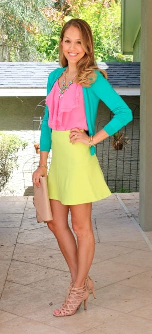 Update your summer look! Try citrus colors. tabithadumas.com