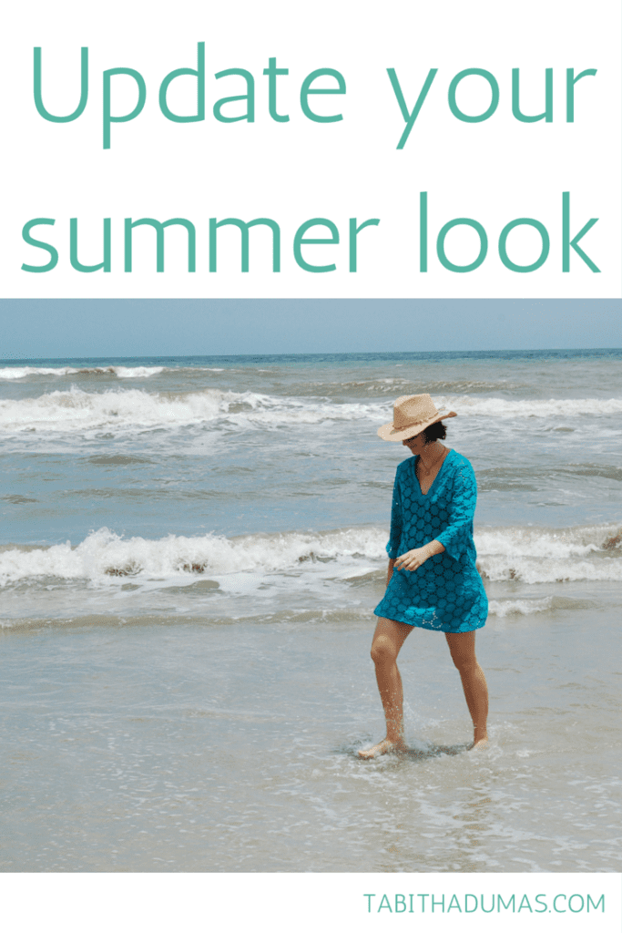 Great tips to update your summer look. Try new colors, wear all white and more. TABITHADUMAS.COM
