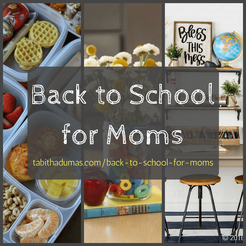 Back to School for Moms! Back to school tips to start your year off right from Tabitha Dumas image consultant
