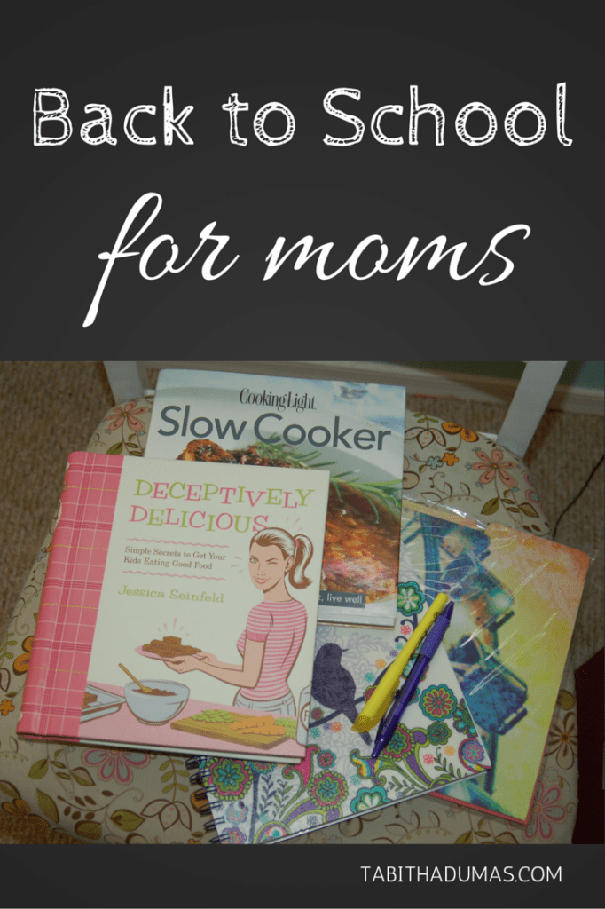 Back to School for moms. Great ideas for getting MOM ready for the kids to go back to school! tabithadumas.com