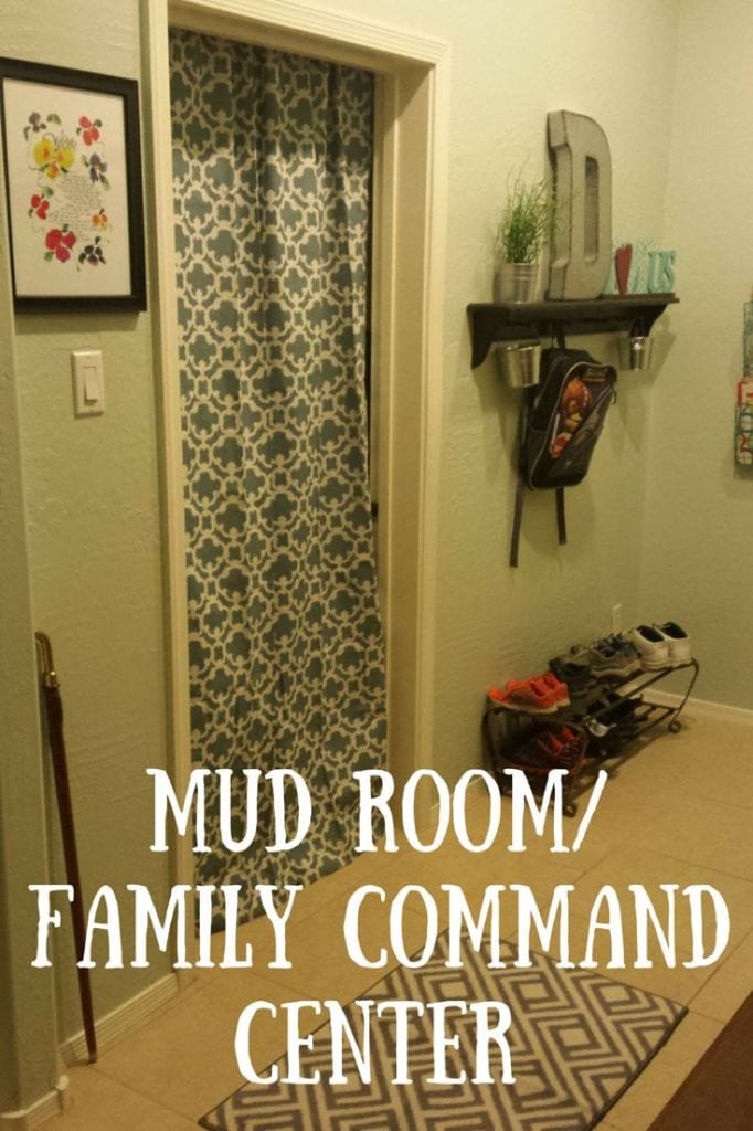 Back to school for mom tips from Tabithadumas.com. Mud room and family command center.