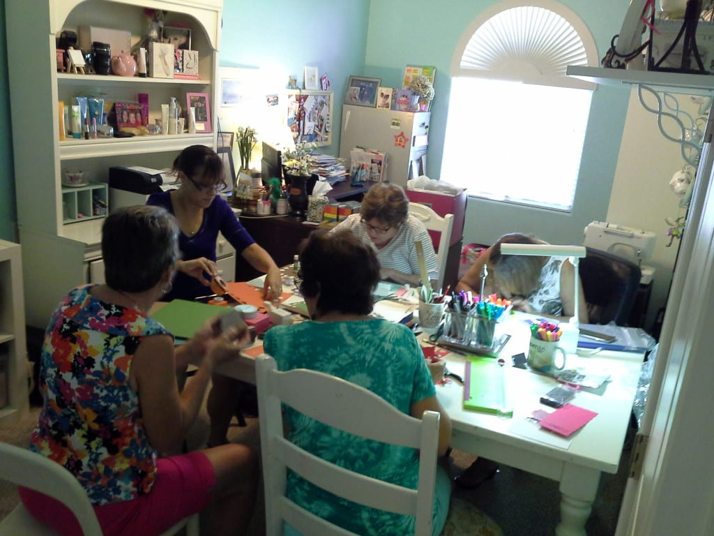Tab's Tips for a fall crafternoon! Gather supplies beforehand, choose a project, food and more ideas on tabithadumas.com