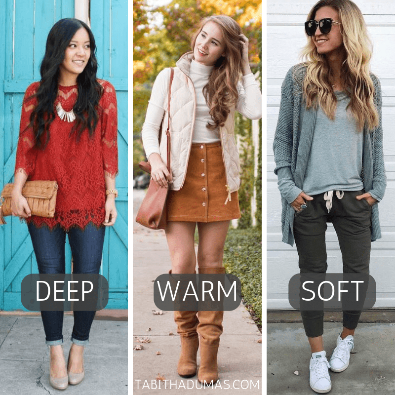 thanksgiving outfit ideas for deep, warm, soft Tabitha Dumas Phoenix Image Consultant color codes discover your signature color