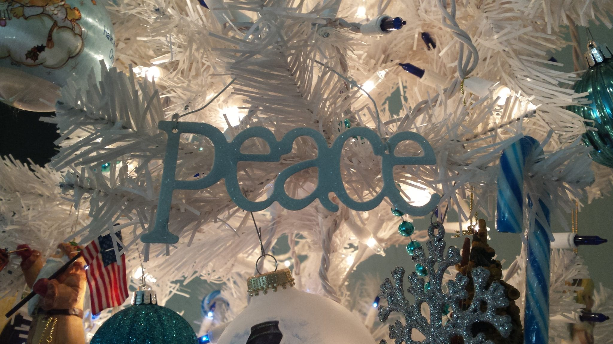 My word for the year was PEACE. Choosing your word for 2015, why and how. tabithadumas.com