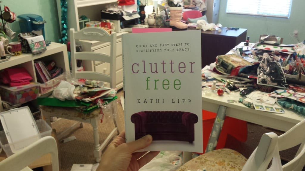Clutter Free by Kathi Lip. Join the 21 day challenge with me!