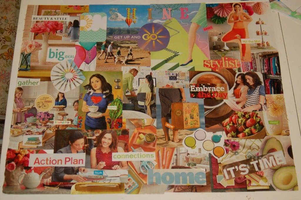 My 2015 SHINE vision board!