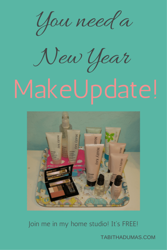 You need a New Year MakeUpdate! Come to my home studio! It's FREE! From Tabithadumas.com