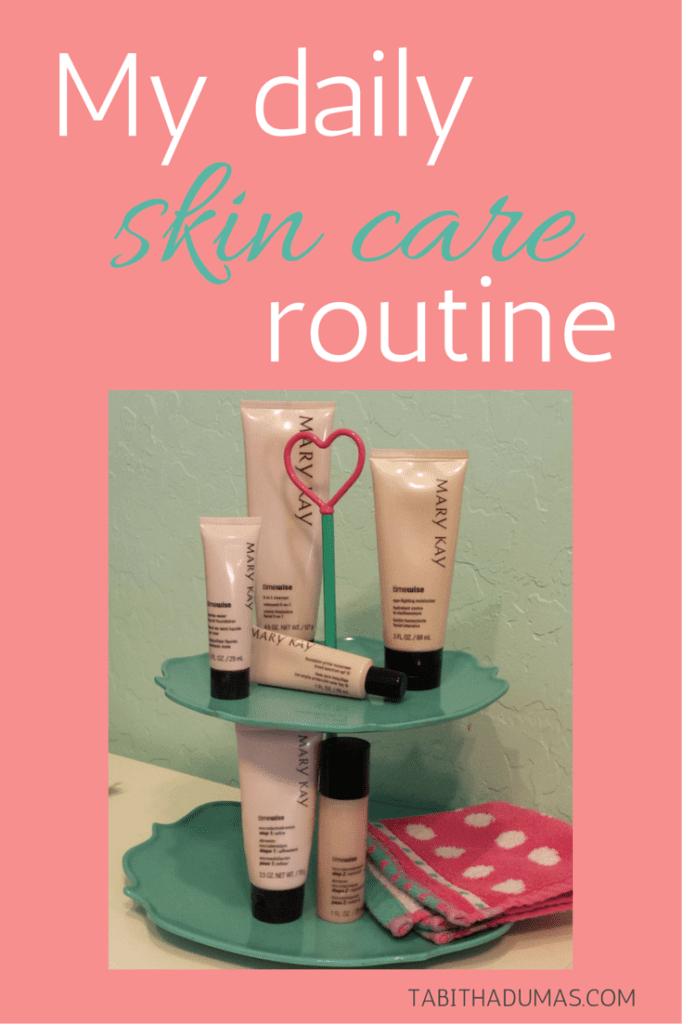 My daily skin care routine. You'll be surprised at how simple it is!