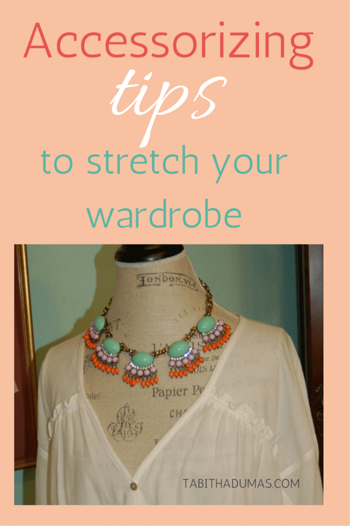 Stretch your wardrobe with these jewelry accessorizing tips from Tabitha Dumas