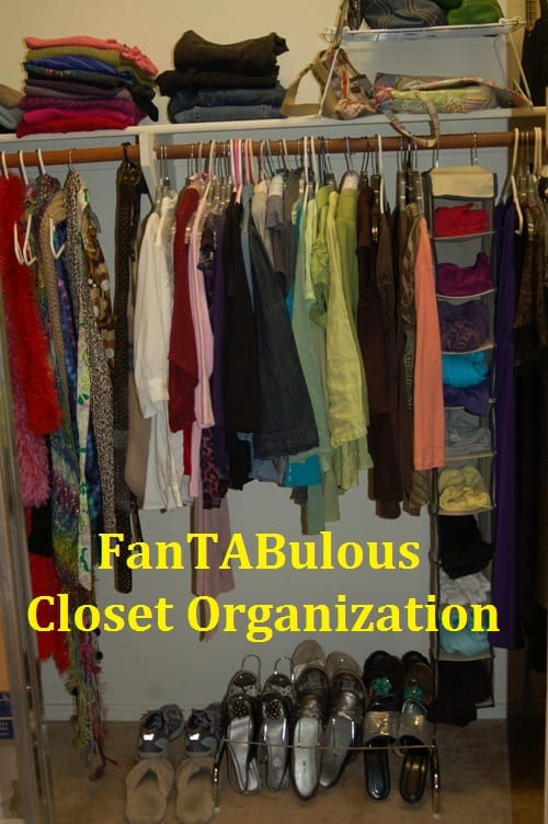 Tabitha Dumas organize your closet by color