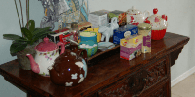 My Signature Event: the potluck tea party