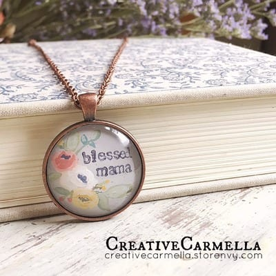 Handmade Mother's Day Gift Ideas -tabithadumas.com Creative Carmella