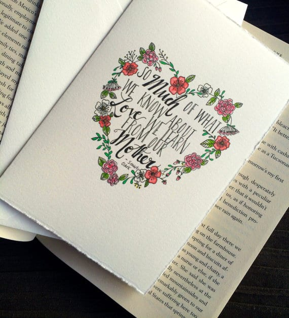 Handmade Mother's Day gift ideas: Cheerful Ink