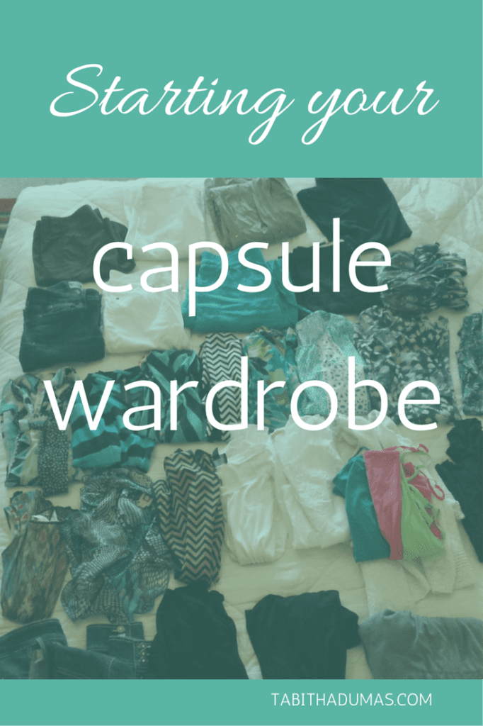 Really great post about starting your capsule wardrobe!
