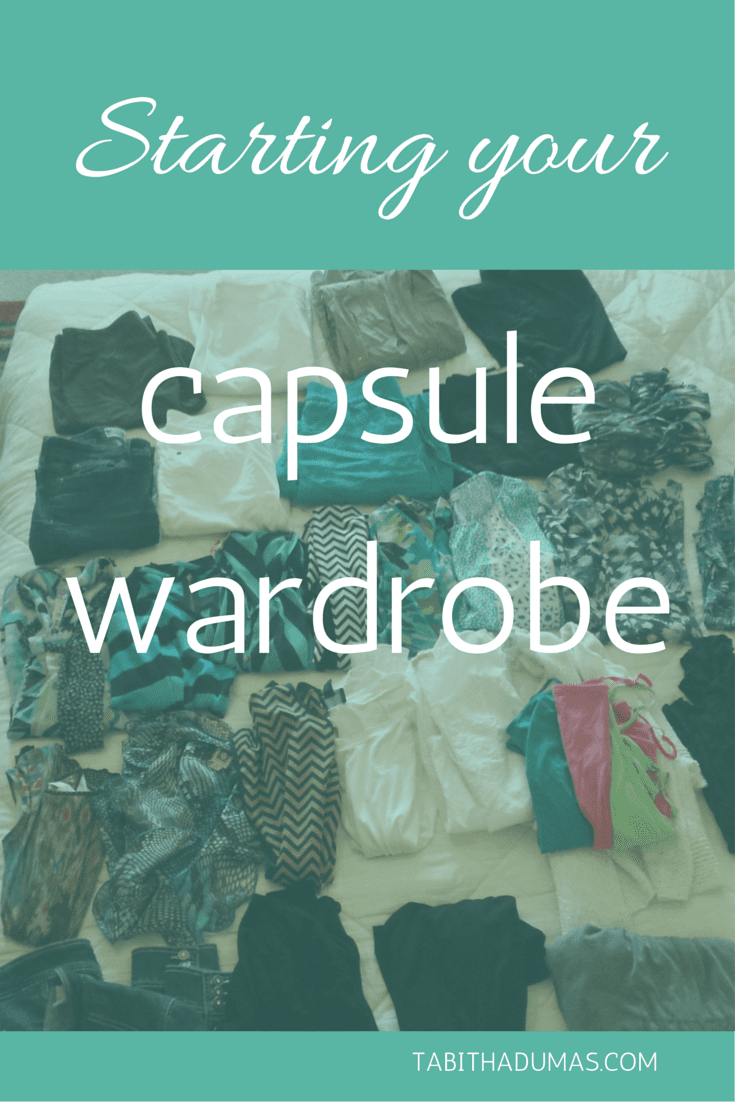 Starting Your Capsule Wardrobe