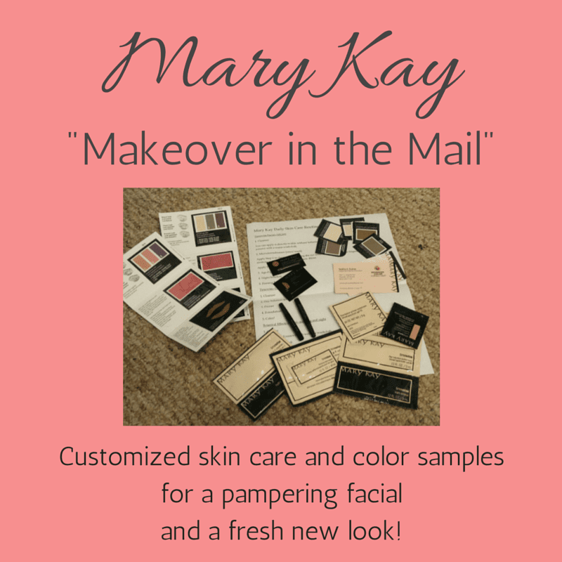 Mary Kay makeover in the mail