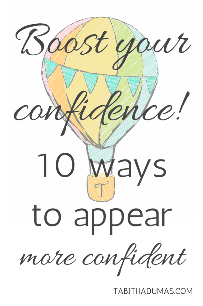 Great tips! 10 ways to appear to appear confident by TabithaDumas.com