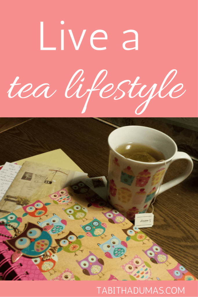 Slow down, enjoy the moment and never be too busy for tea. Live a tea lifestyle! from TabithaDumas.com