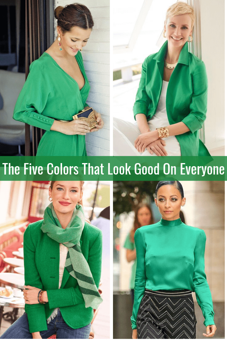 The Five Colors That Look Good on Everyone Emerald Green Tabitha Dumas Phoenix Image Consultant