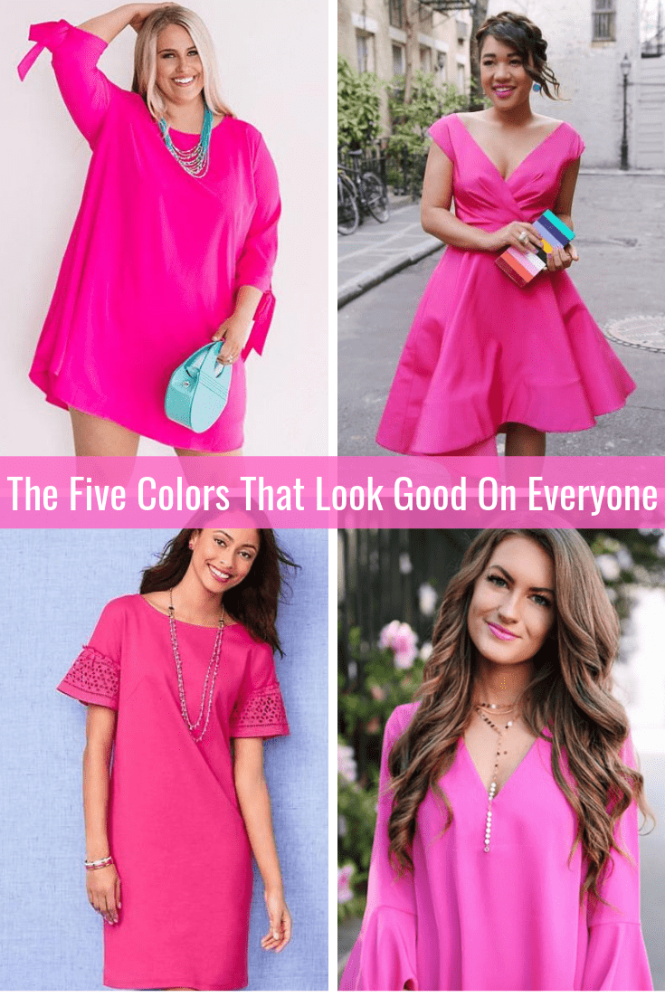 The Five Colors That Look Good on Everyone Hot Pink Tabitha Dumas Phoenix Image Consultant