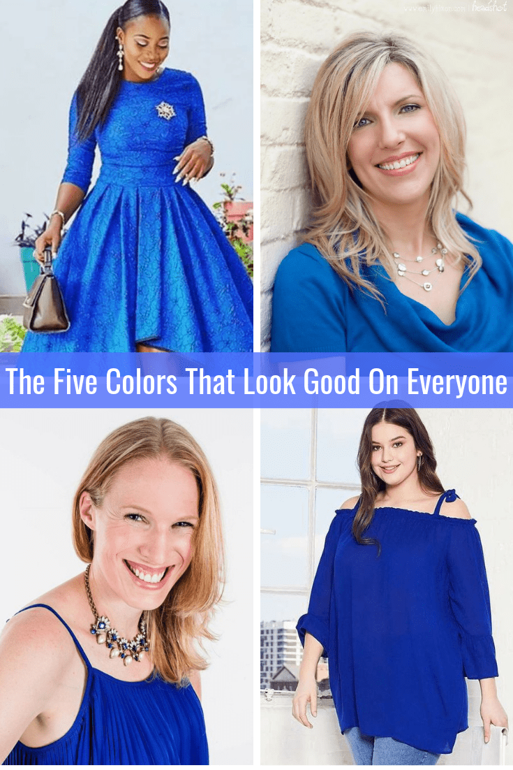 The Five Colors That Look Good on Everyone ROYAL BLUE Tabitha Dumas Phoenix Image Consultant