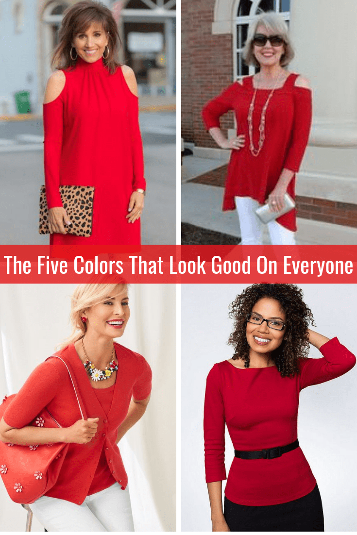 The Five Colors That Look Good on Everyone Red Tabitha Dumas Phoenix Image Consultant