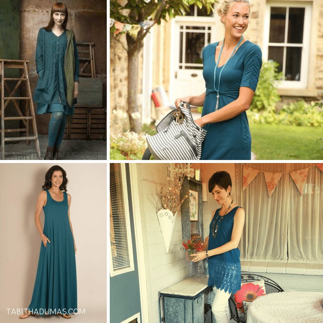 Teal is a color that looks good on everyone. Teal Signature Color