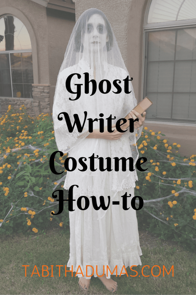 Ghost Writer Costume How-to from TabithaDumas.com