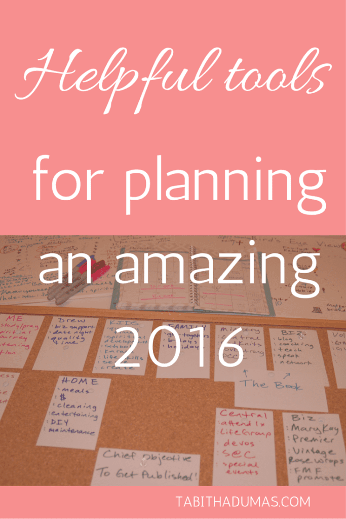 Helpful tools for planning an amazing 2016, including personal, business and spiritual. tabithadumas.com