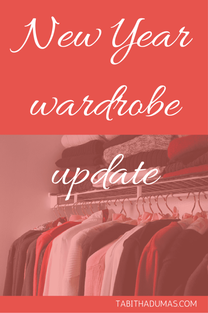 New Year wardrobe update! Start the new year with some intentions for your wardrobe. tabithadumas.com