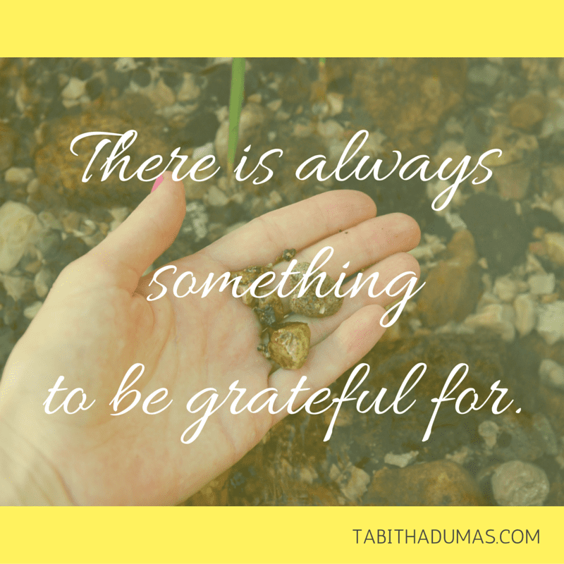 Lessons anxiety taught me: There is always something to be grateful for. tabithadumas.com