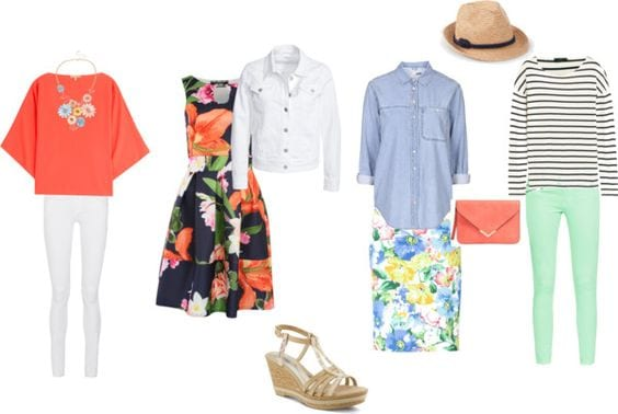 Easter outfits already in your closet.  Tabitha Dumas phoenix image consultant
