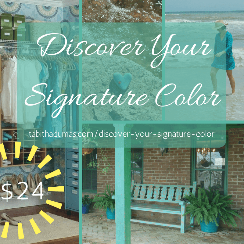 Discover Your Signature Color from tabithadumas.com