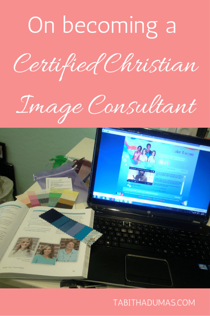 My journey! On becoming a Certified Christian Image Consultant from tabithadumas.com