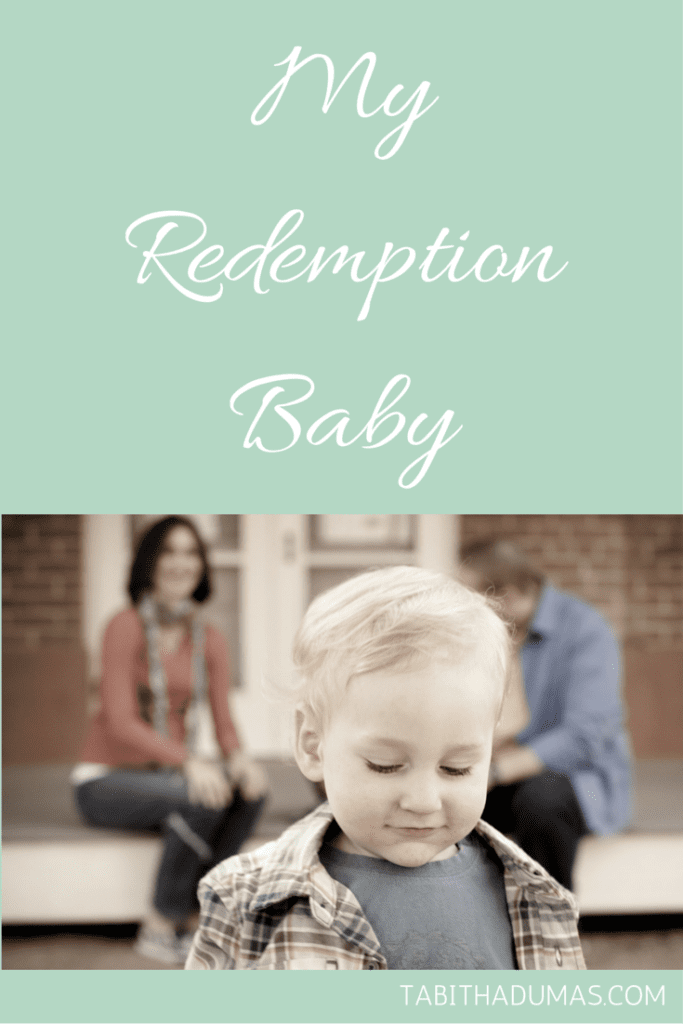 My Redemption Baby from tabithadumas.com