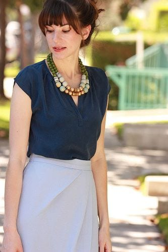Summer office style! Accessorize! tabithadumas.com image consultant