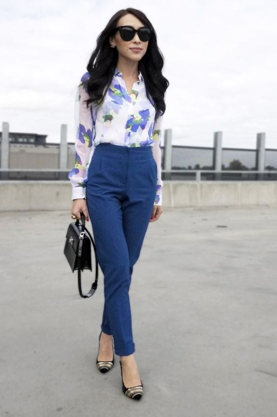 What to wear with a print! You don't have to be afraid of prints! tabithadumas.com image consultant