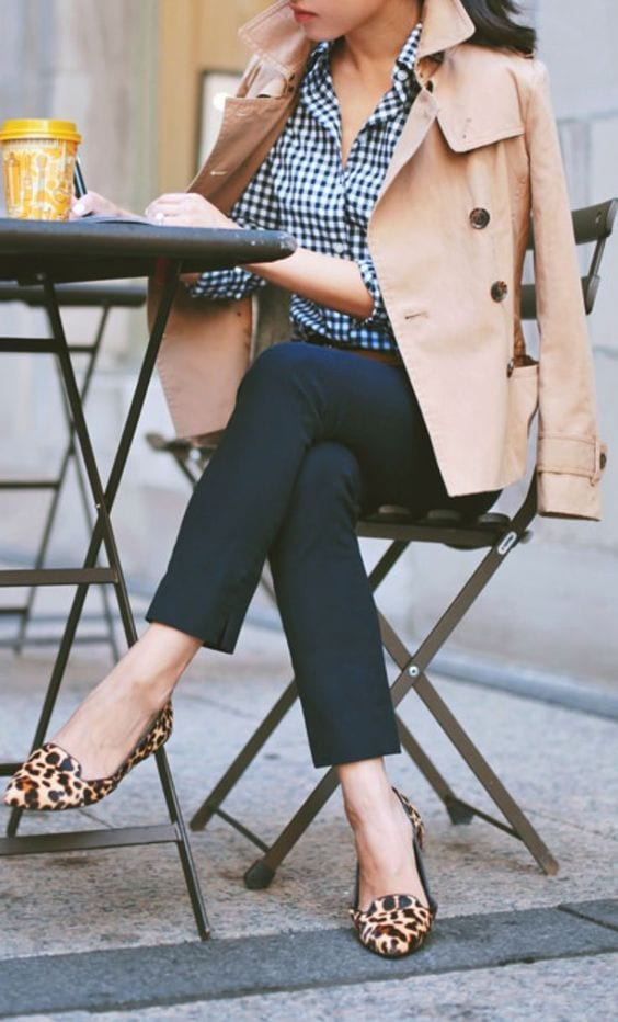 Leopard print shoes elevate any outfit + How to wear leopard print for your Dominant Color Category by tabithadumas.com