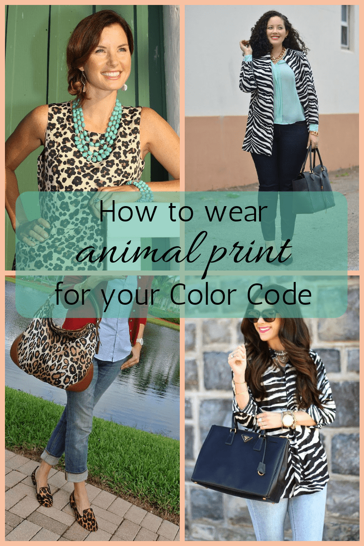 How to wear animal print for your Color Code tabithadumas.com Tabitha Dumas Phoenix Image Consultant