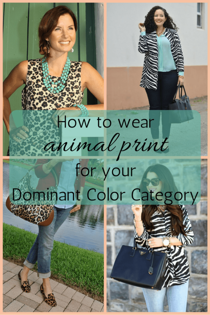 How to wear animal print for your Dominant Color Category - Tabitha ...
