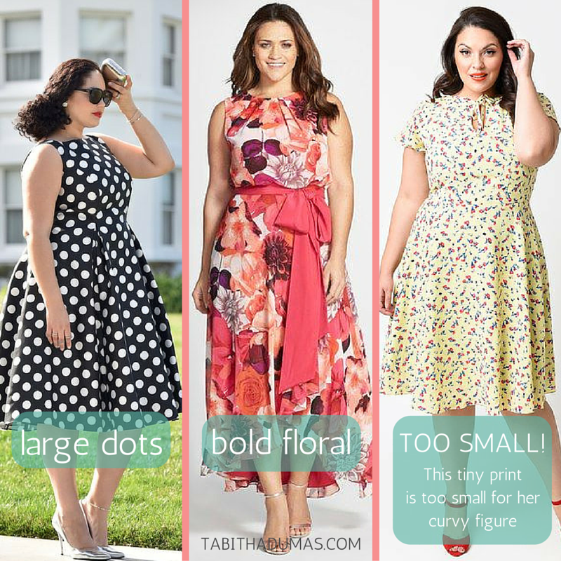 Scale and proportion. You don't have to be afraid of prints! tabithadumas.com image consultant