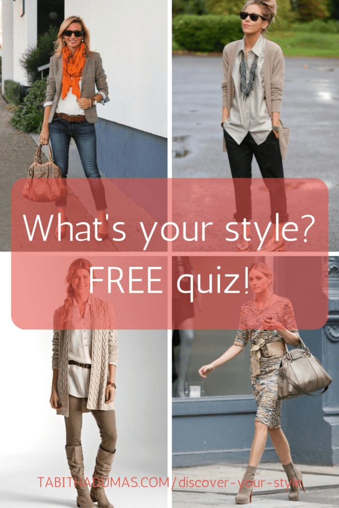 What's your style- FREE quiz! tabithadumas.com/discover-your-style