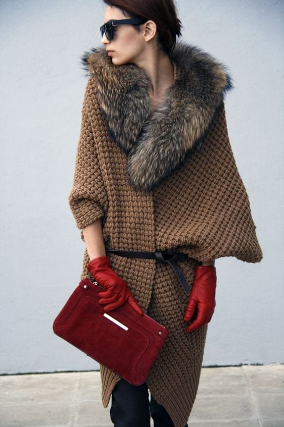 Fall trends--gloves and fur. tabithadumas.com