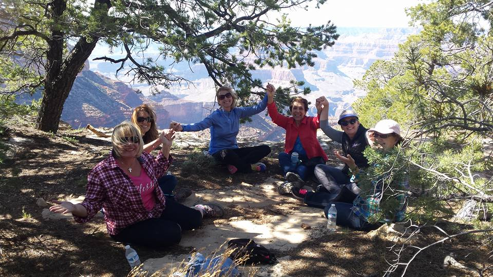 Tabitha Dumas life group rim of the Grand Canyon