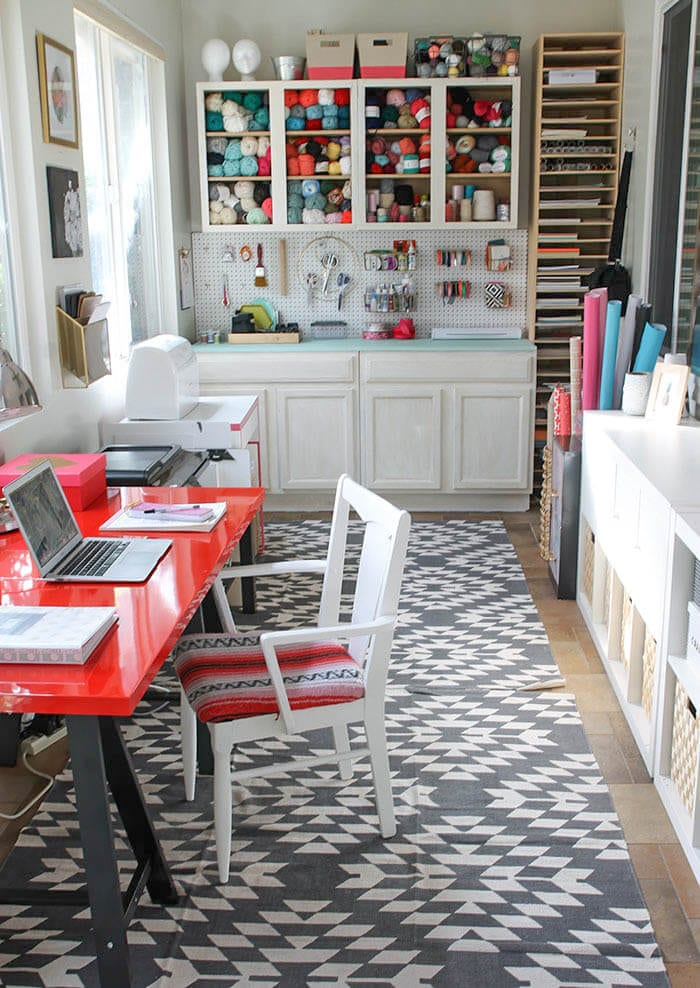 Craft room. Every woman needs a spot. Here's why and how. tabithadumas.com