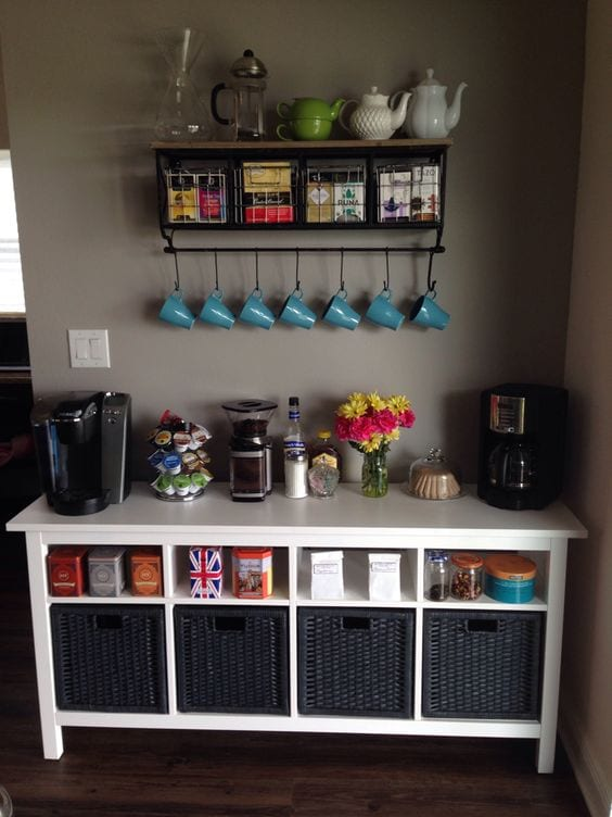 Create A Coffee Tea Station Tabithadumas Tabitha Dumas Lifestyle