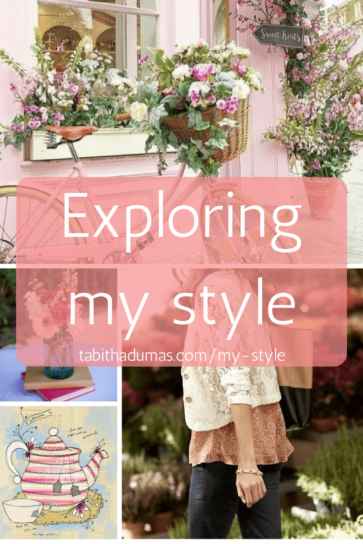 An exercise to help you find your style. Exploring my style -tabithadumas.com