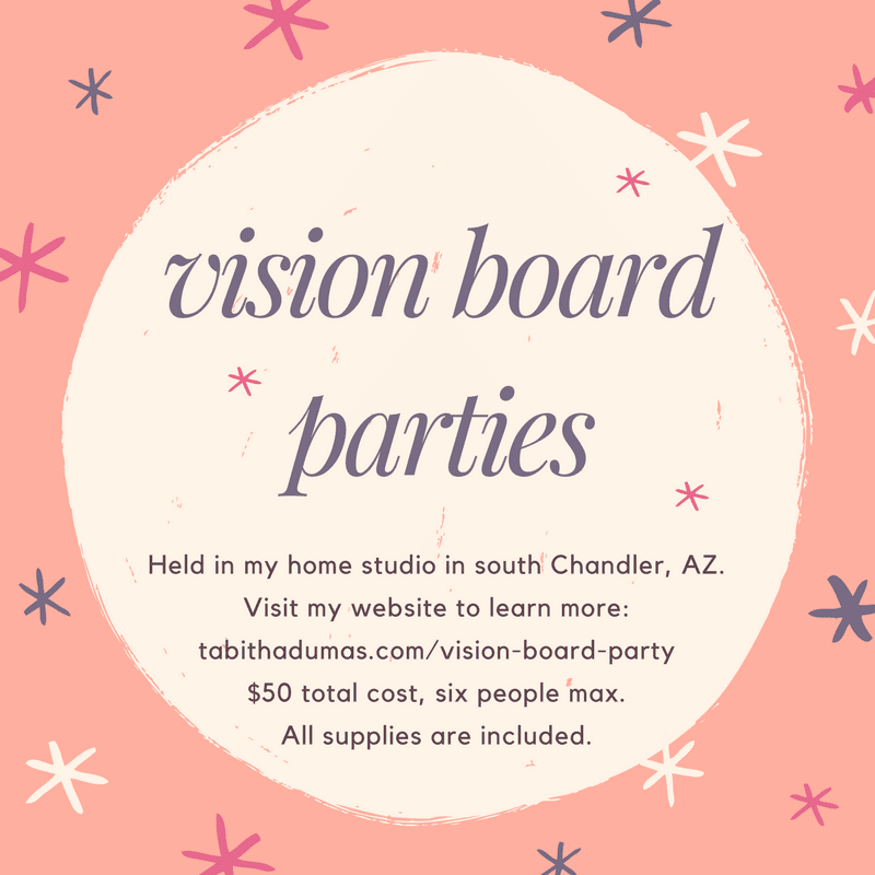 vision board parties--Phoenix Image Consultant