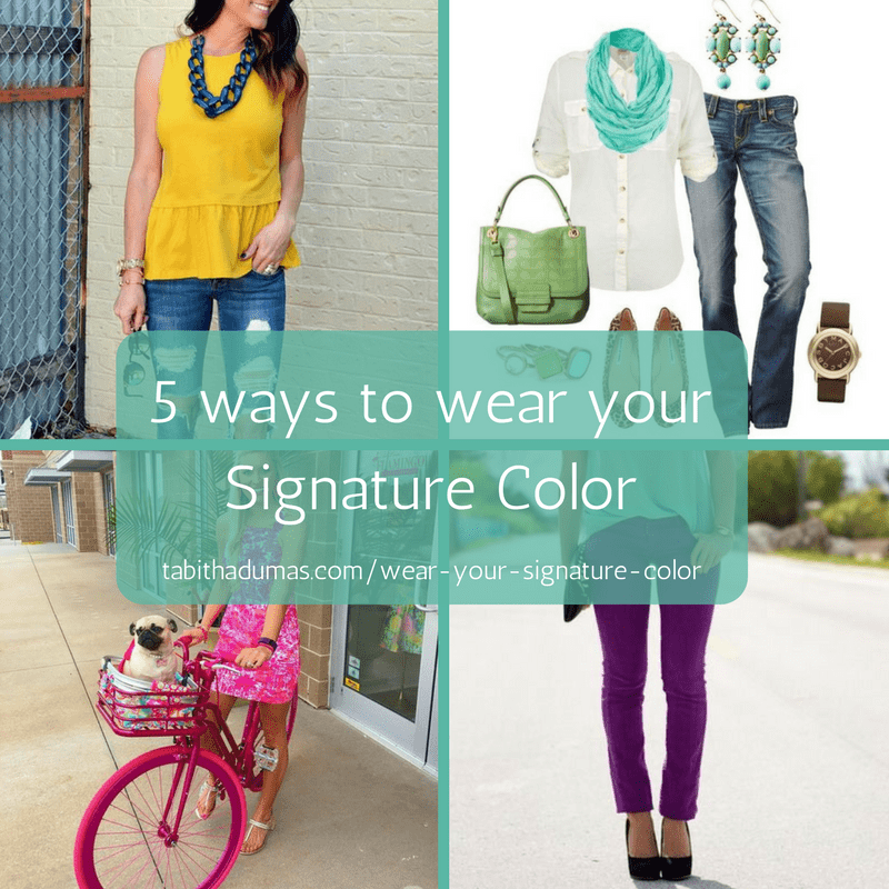 Five ways to wear your Signature Color from Tabitha Dumas Phoenix Image Consultant -tabithadumas.com%2Fdiscover-your-signature-color